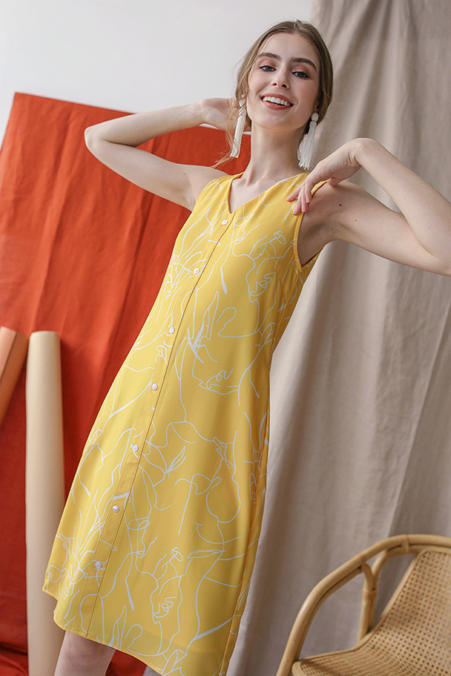 Lumi Button Dress (Whimsy)