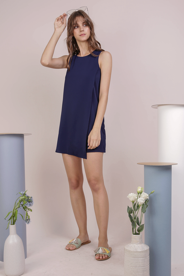 Jovi Shift Dress (Navy)