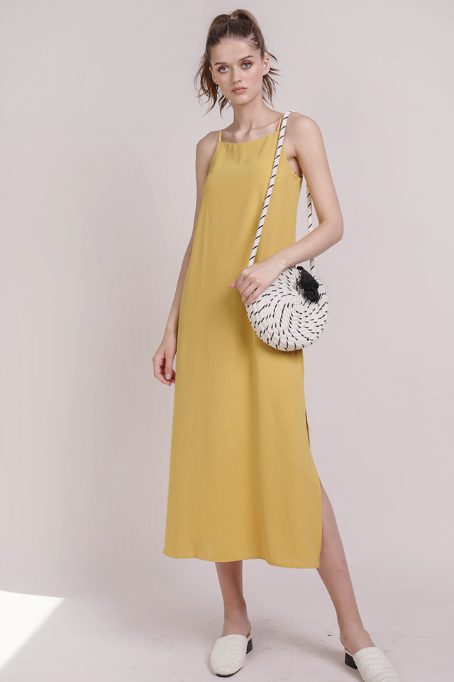 Taye Midi Dress (Honey)
