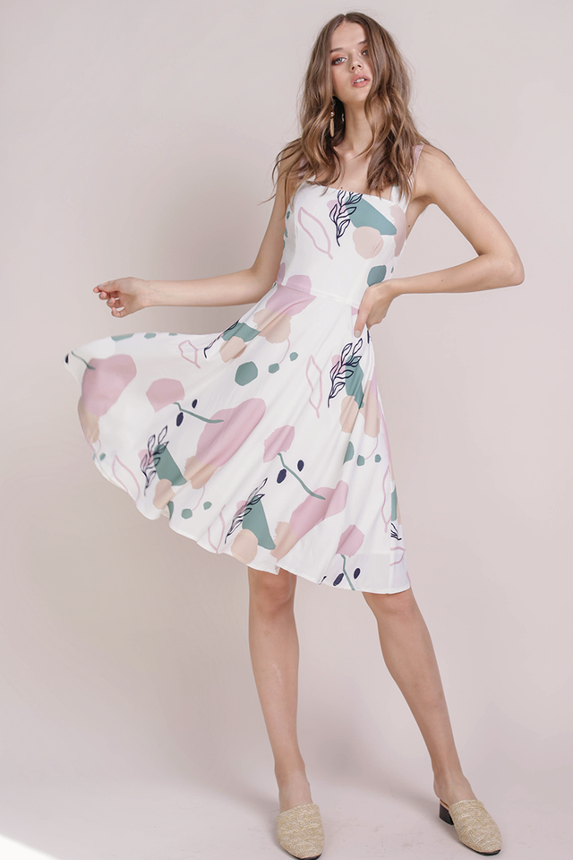 Ariel Flare Dress (Flourish)