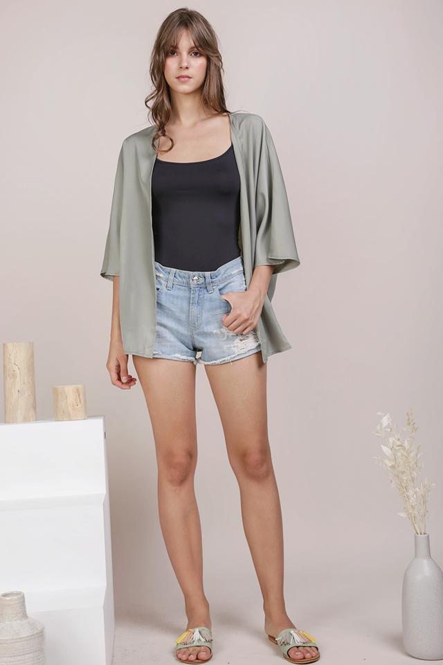 Odessa Kimono (Sage Green)