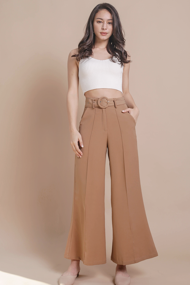 Pearson Belted Pants (Camel)