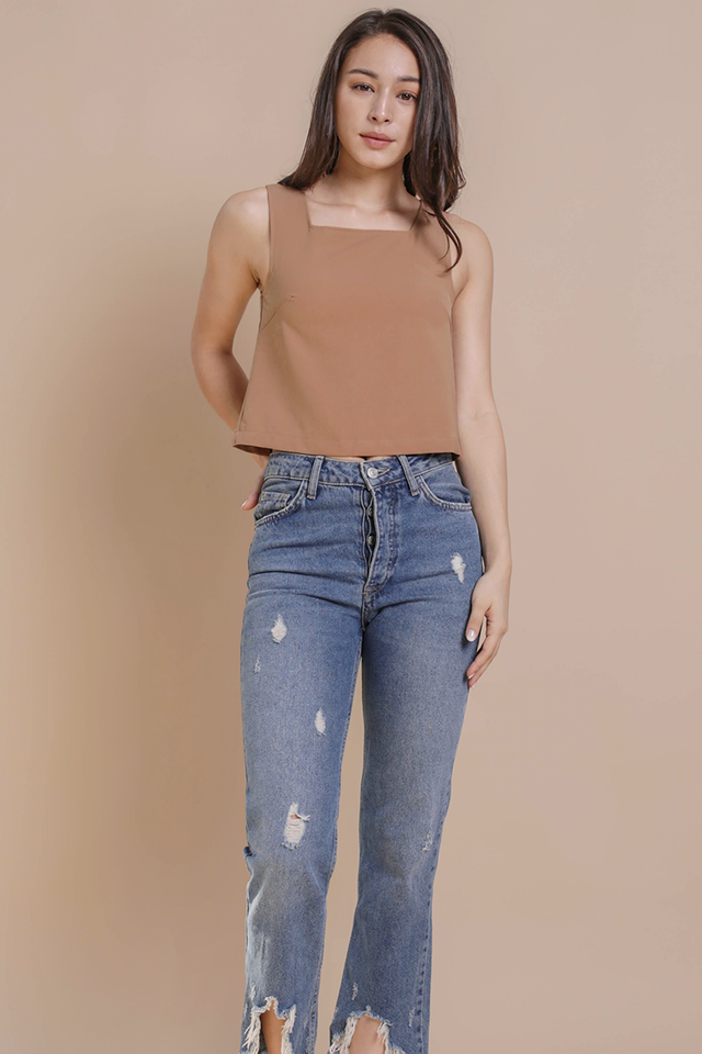 Bay Basic Top (Camel)