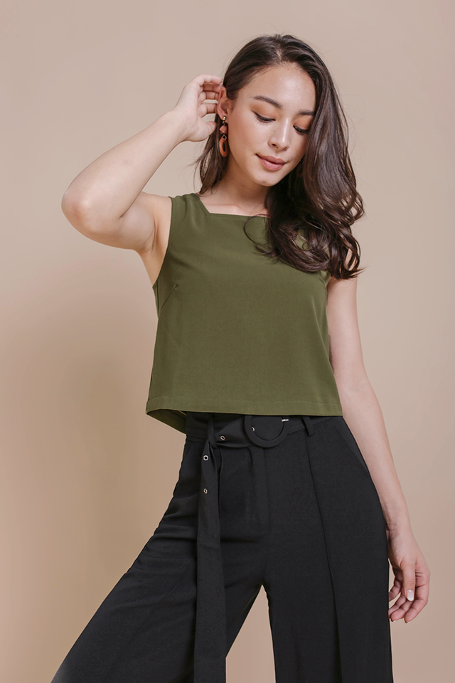 Bay Basic Top (Olive)