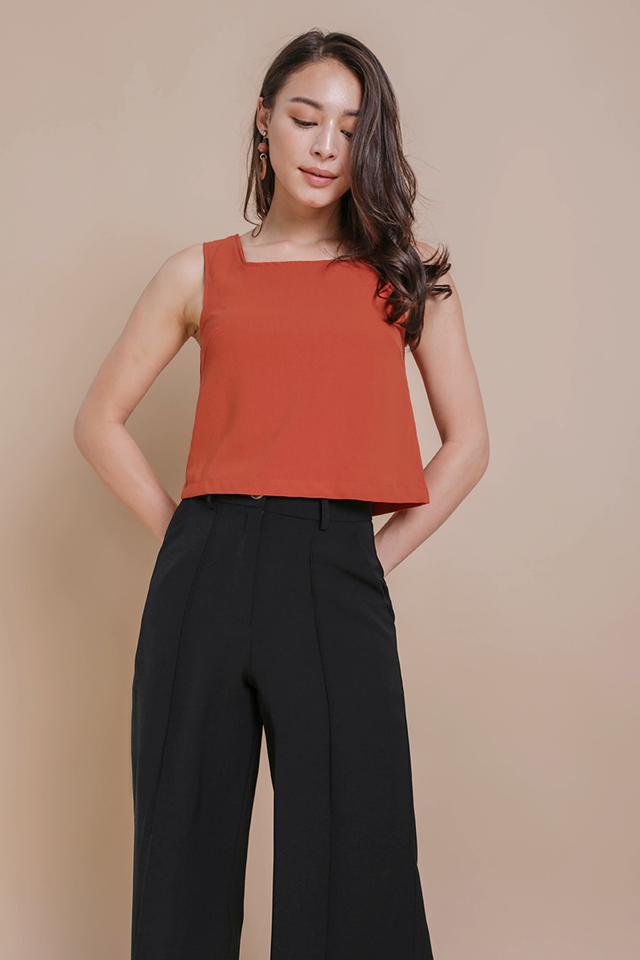 Bay Basic Top (Tangerine)