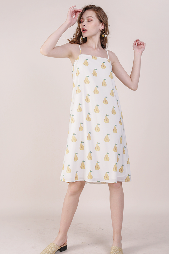 Forelle Midi Dress (Pear)
