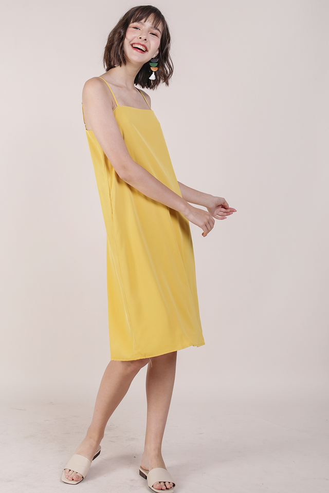 Forelle Midi Dress (Marigold)