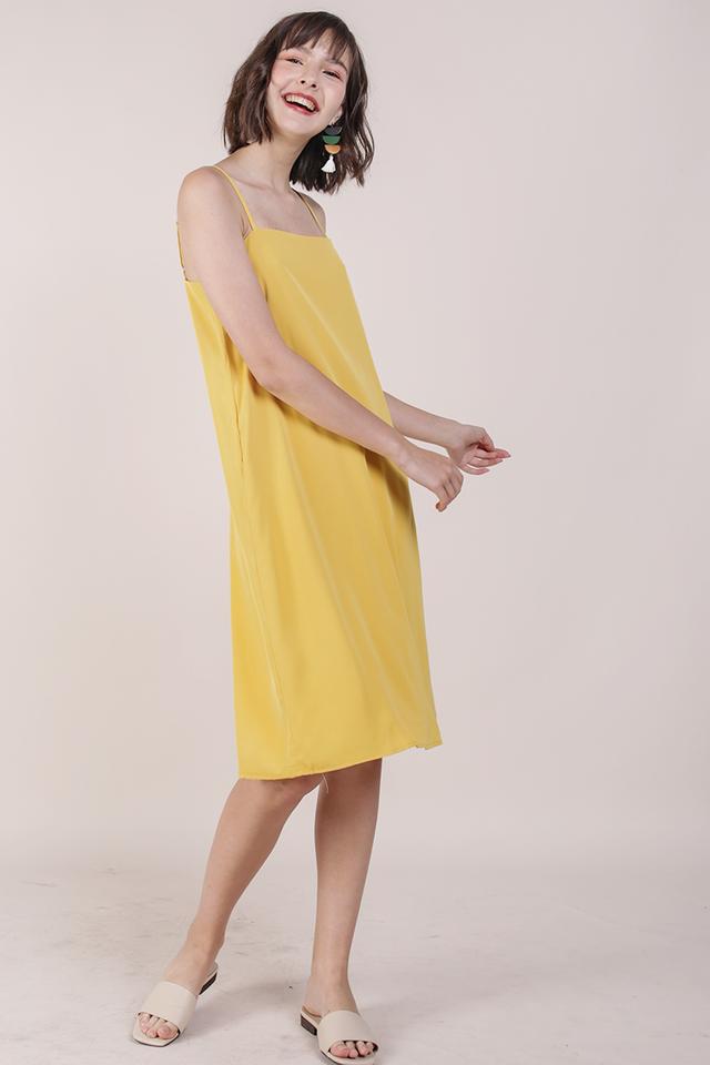 Forelle Midi Dress (Marigold)