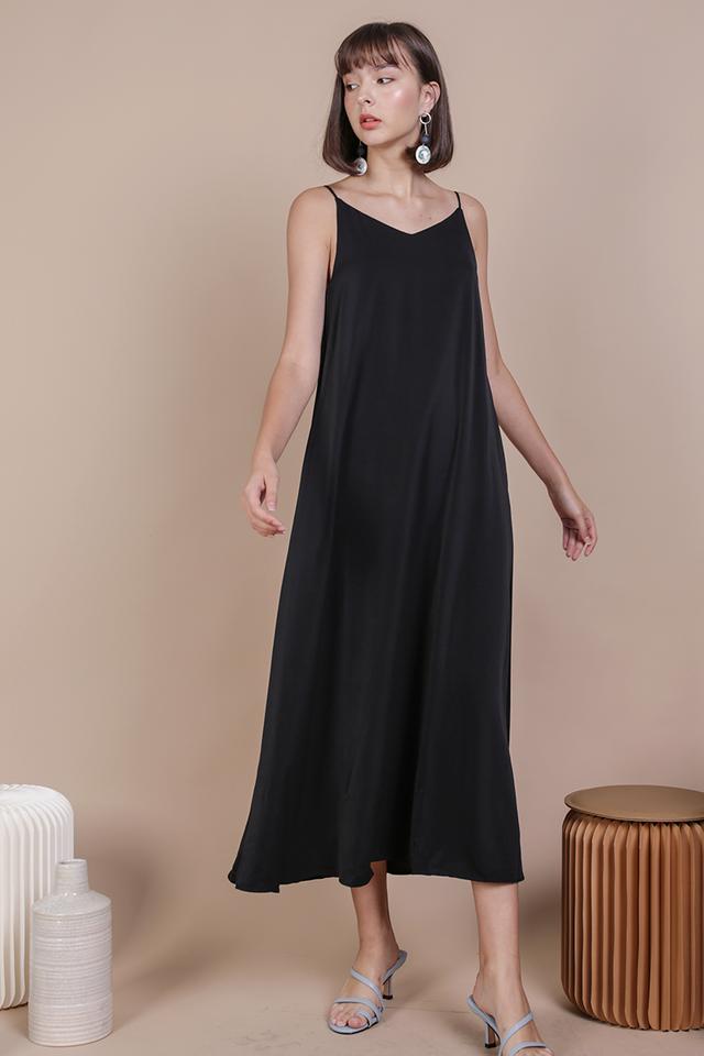 Faye Maxi Dress (Black)
