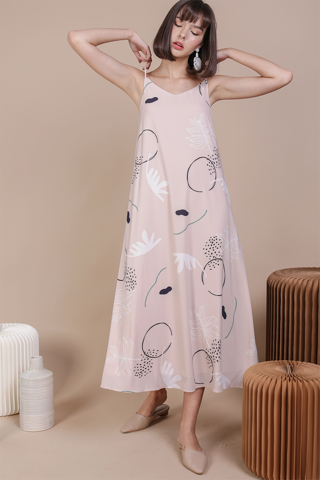 Faye Maxi Dress (Botany)