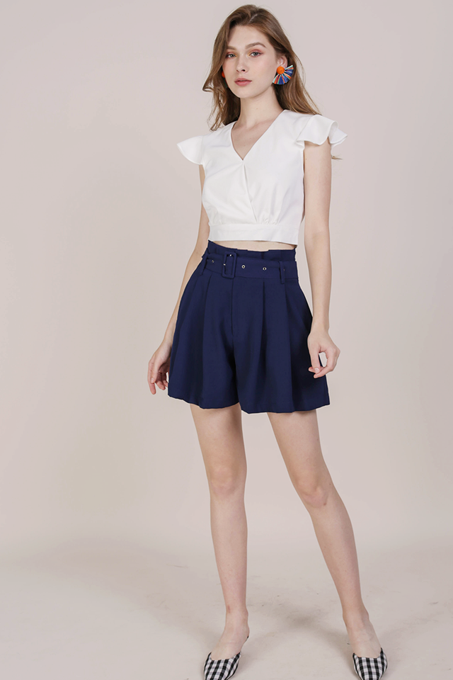 Misha Ruffles Top (White)