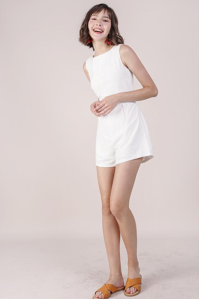 Tisha Romper (White)