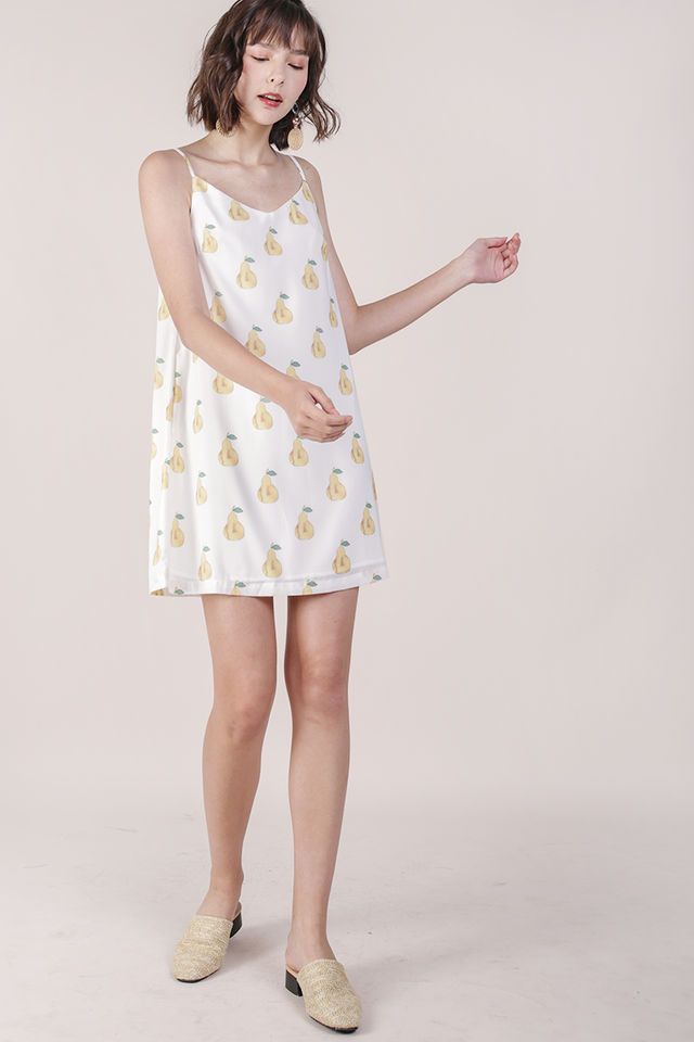 Thea Spag Dress (Pear)