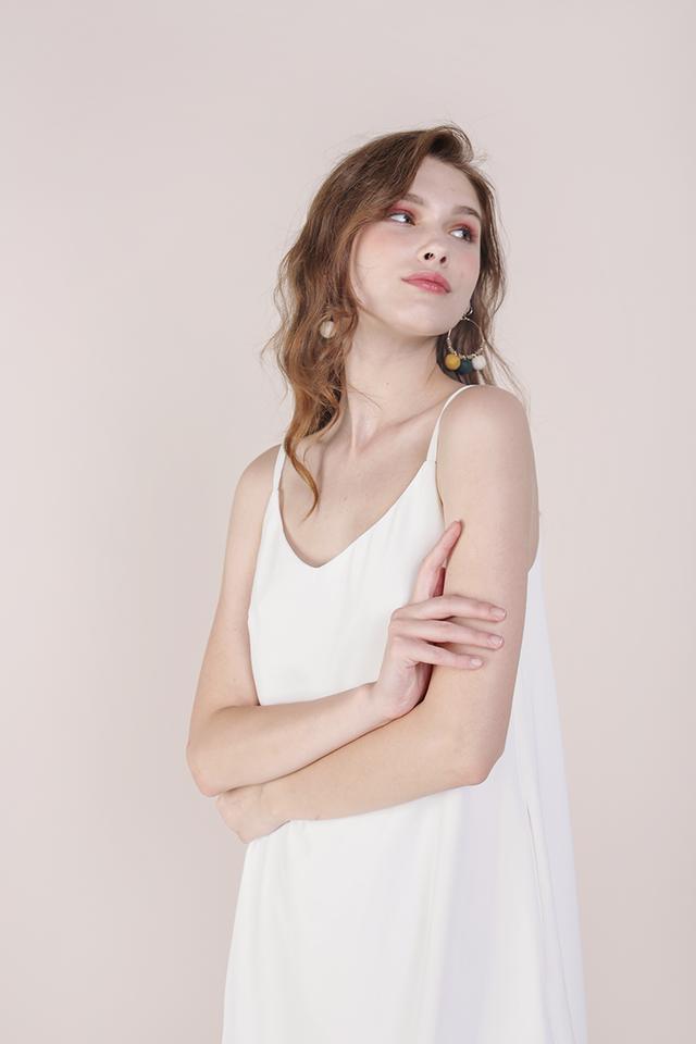 Thea Spag Dress (White)