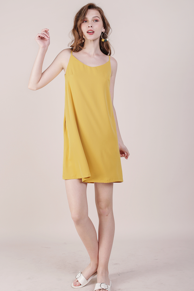 Thea Spag Dress (Marigold)