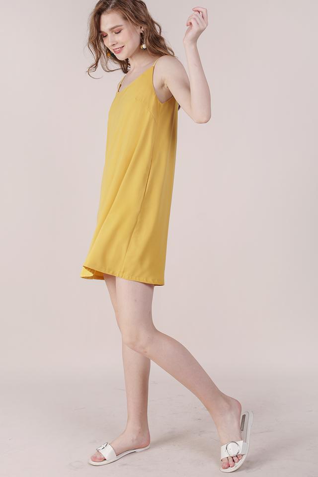 Thea Spag Dress (Marigold)