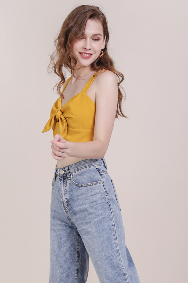 Poppy Tie Front Top (Honey)