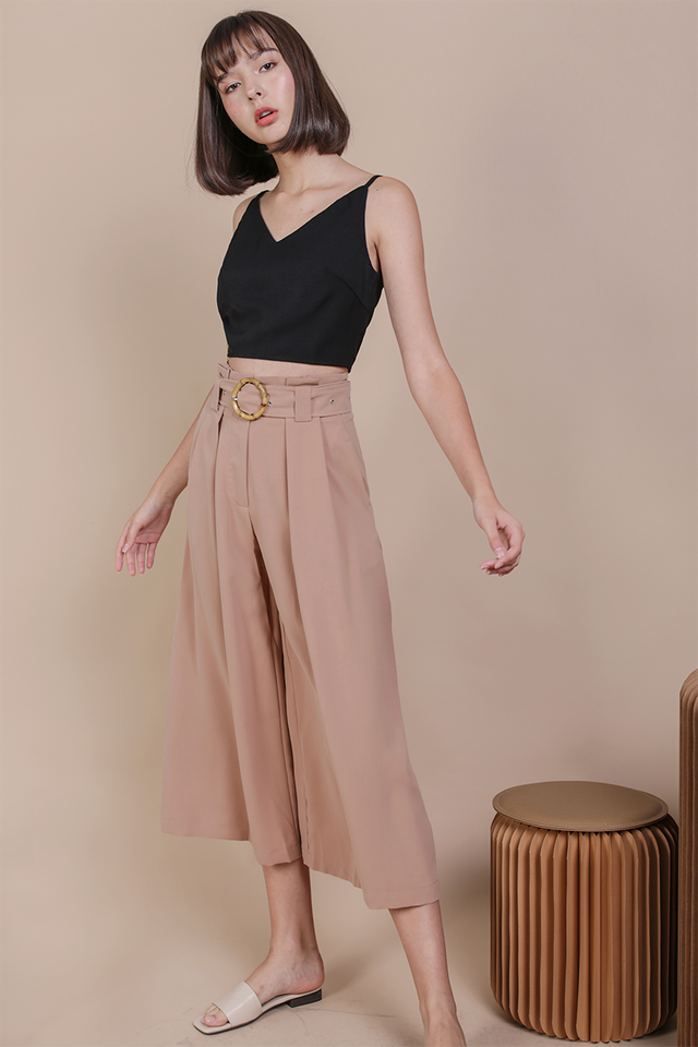 Ned Buckle Culottes (Nude Pink)