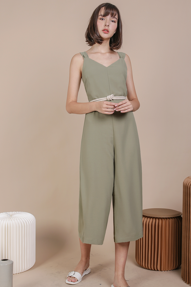 Ria Jumpsuit (Sage Green)