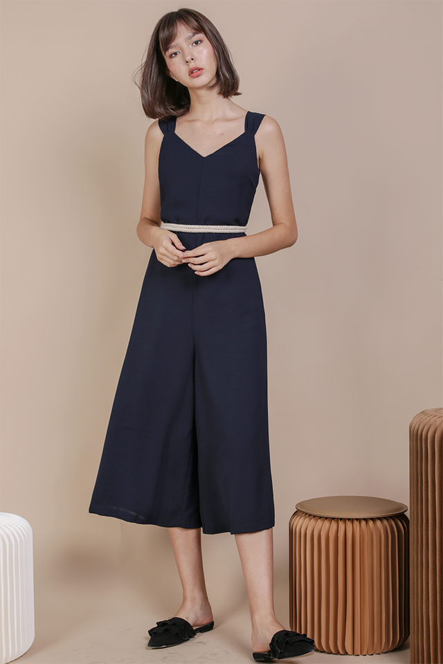 Ria Jumpsuit (Navy)