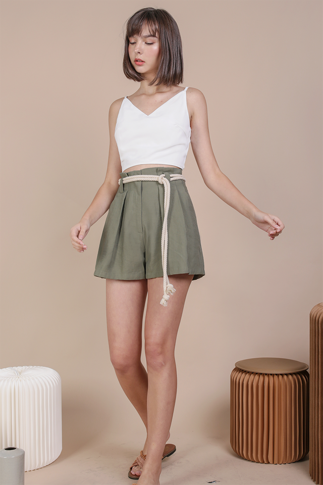 Hansen Shorts (Dark Sage Green)
