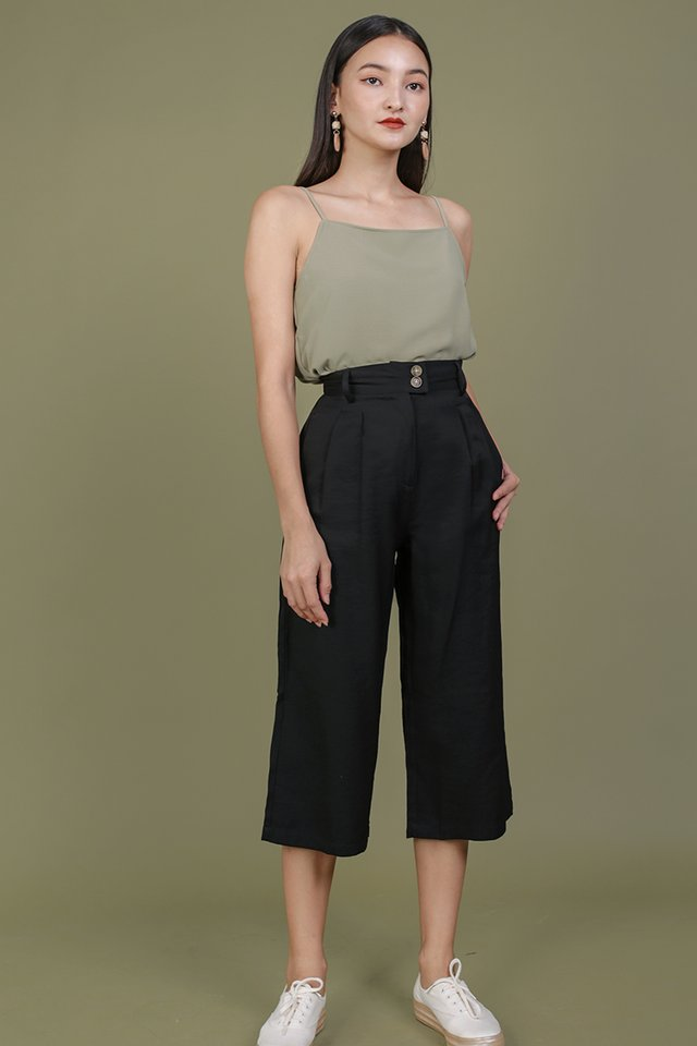 Oda Button Pants (Black)
