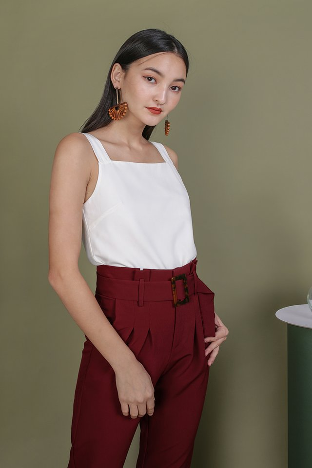 Lexa Basic Top (White)