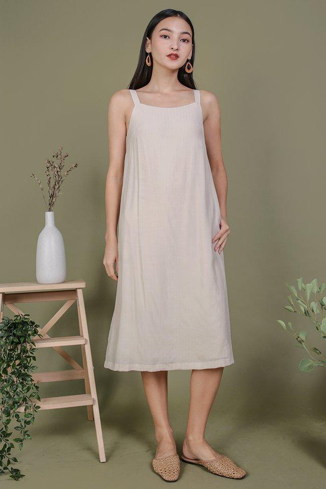 Olson Slip Dress (Cream)