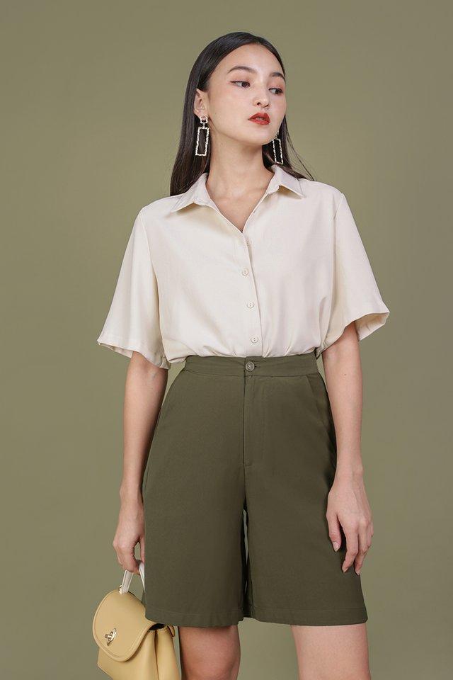 Asher Longline Shorts (Olive)