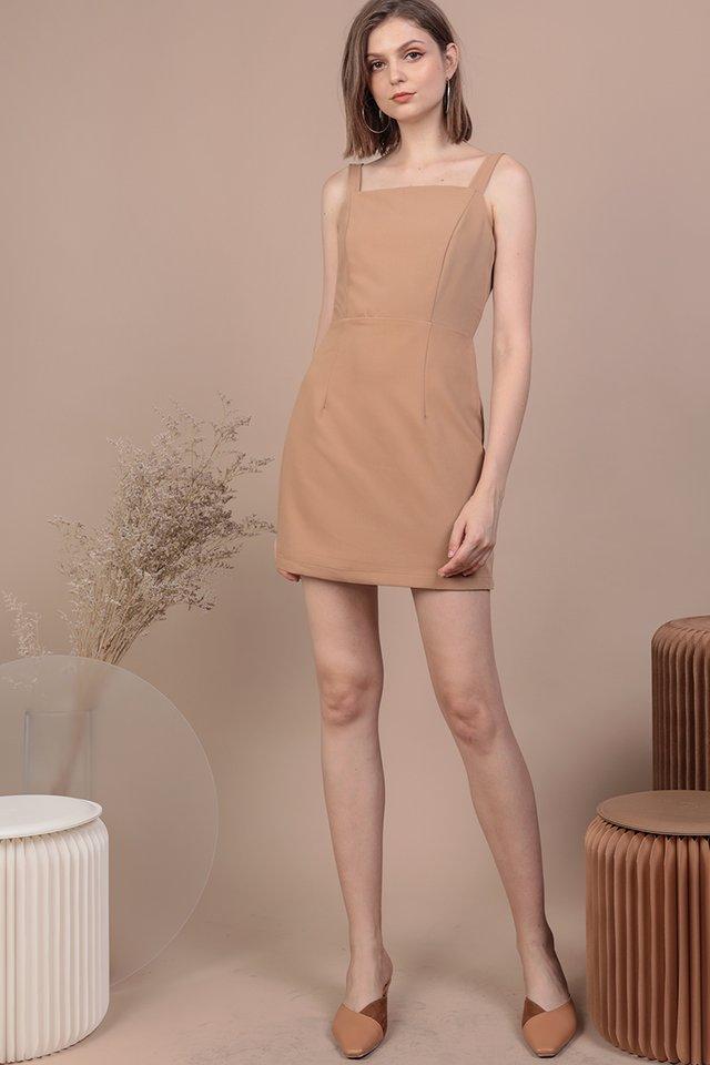 Levine Dress (Sand)