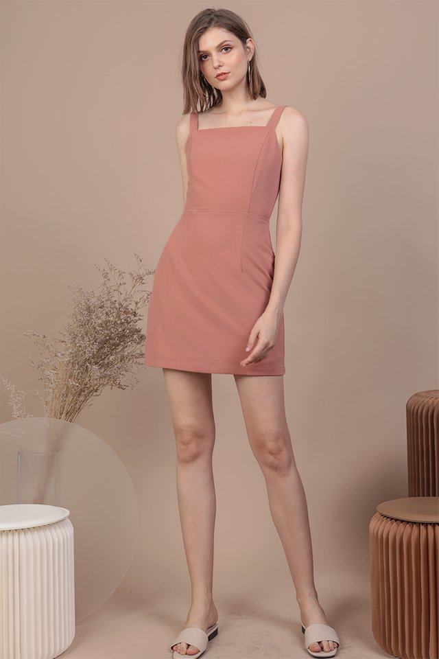 Levine Dress (Dusty Pink)