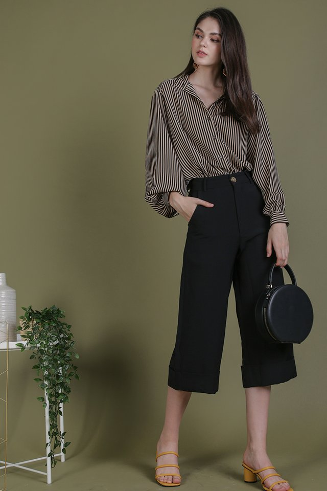 Colby Blouse (Stripes)