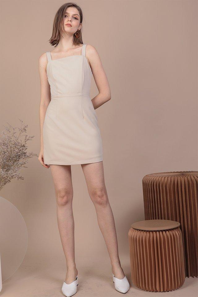 Levine Dress (Beige)