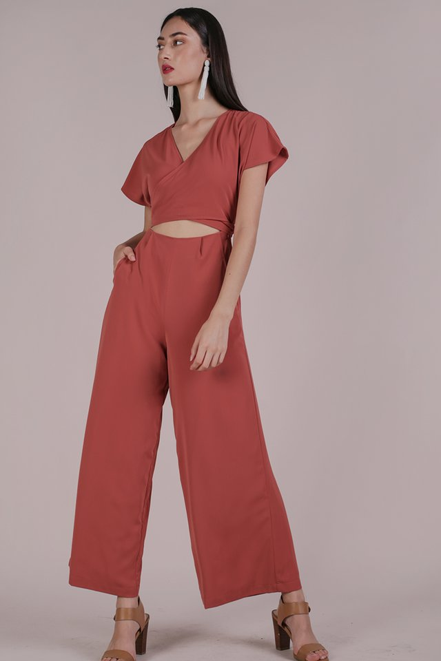 Marcia Jumpsuit (Rose)