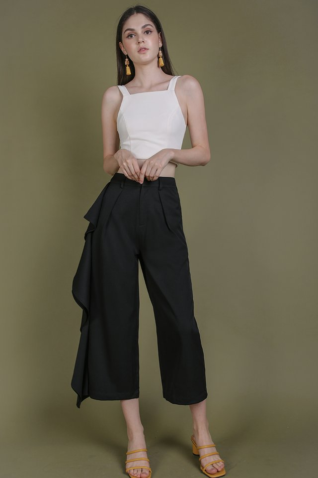 Brady Ruffles Pants (Black)