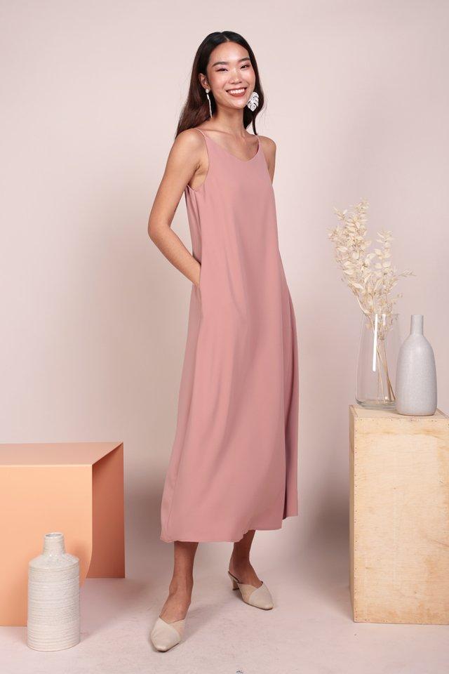 Faye Maxi Dress (Pink)
