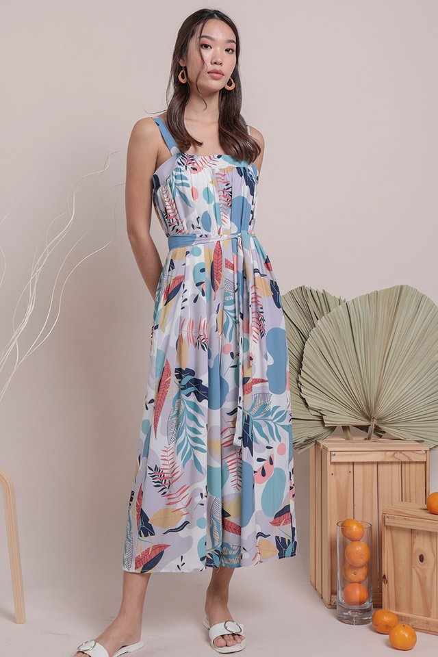 Madison Jumpsuit (Tropical)