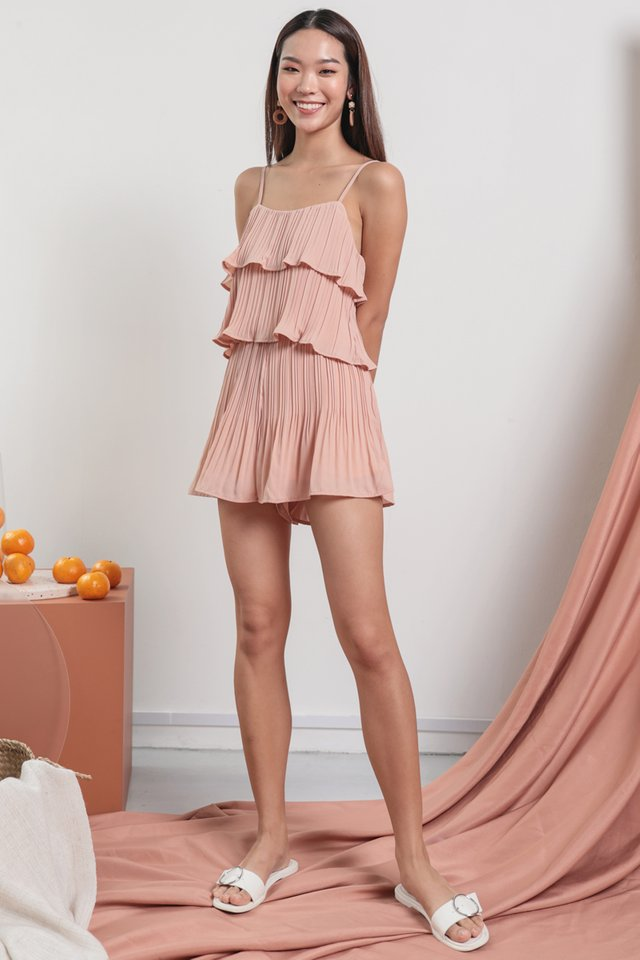 Maisy Pleated Set (Pink)
