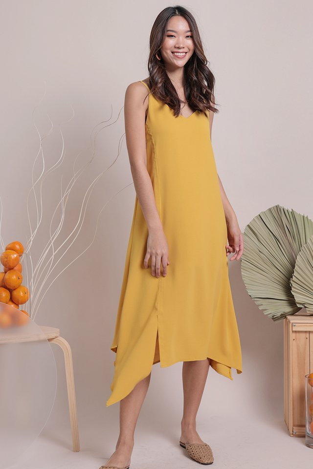 Tayla Slip Dress (Honey)
