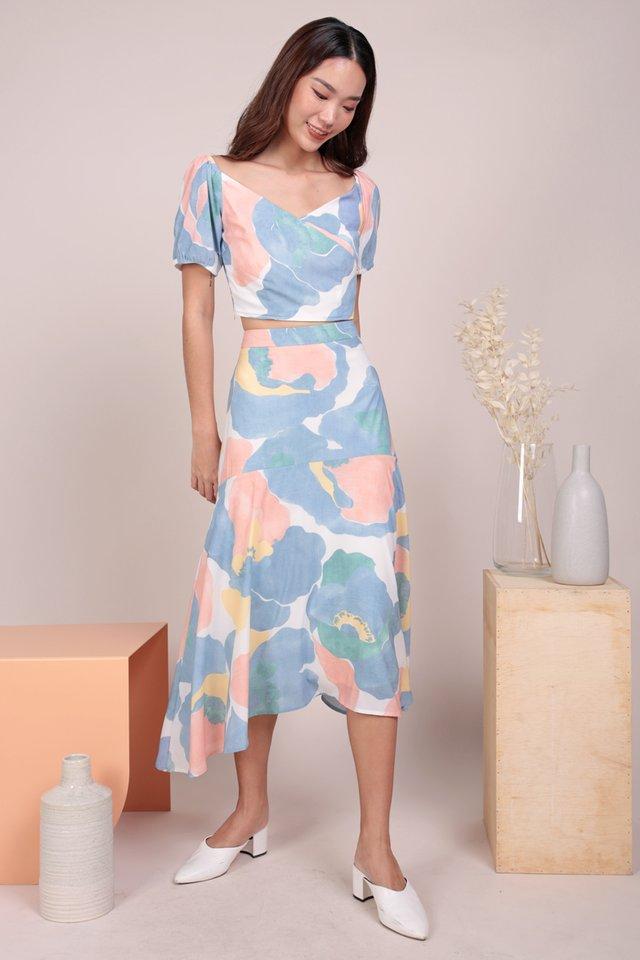 Fiori Midi Skirt (Blossom)