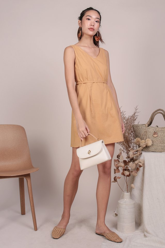 Desiree Basic Dress (Sunglow)