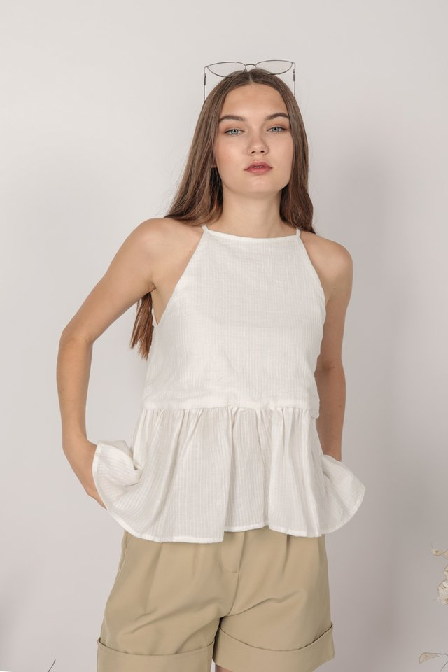 Nico Halter Top (White)
