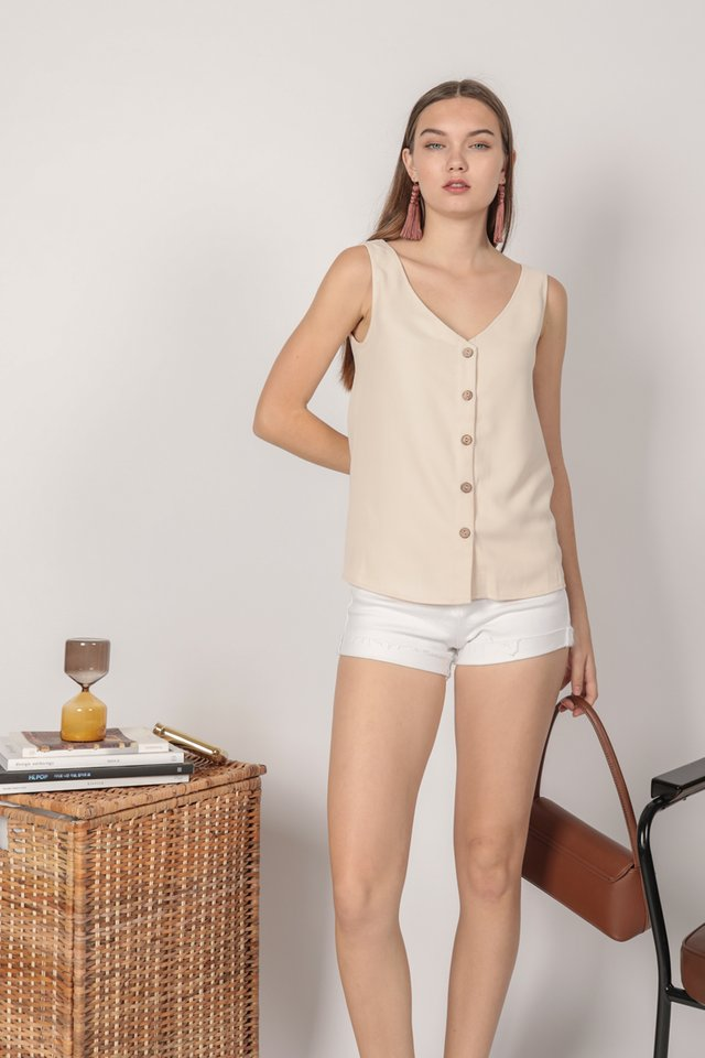 Cyrus Two Way Top (Cream)