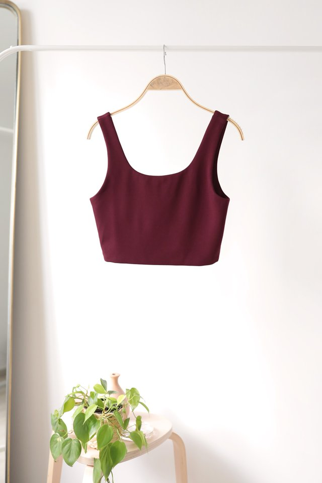 Dan Basic Top (Maroon)