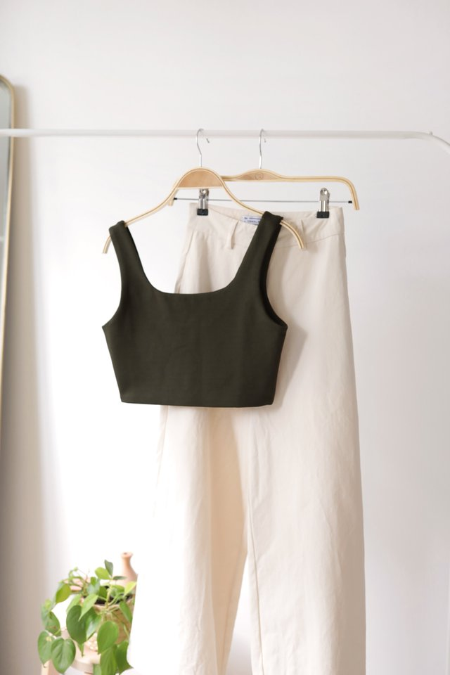 Dan Basic Top (Olive)