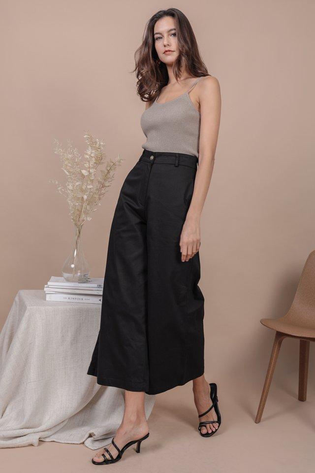 Kenzo Wide Leg Pants (Black)
