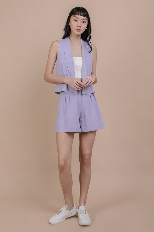 Andres Vest Top (Periwinkle)