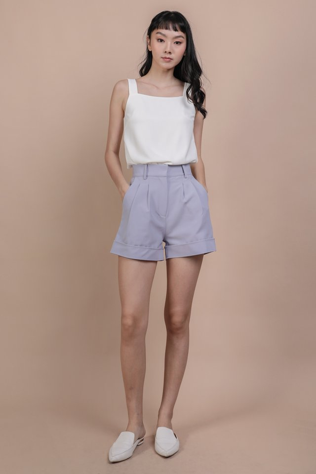 Brook Tailored Shorts (Lavender)