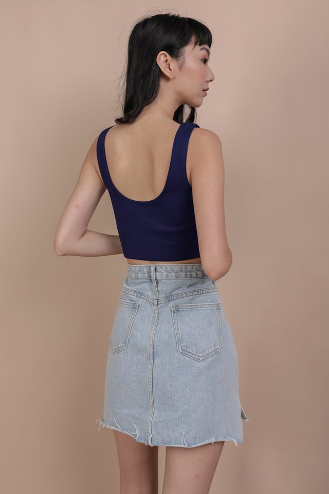 Dan Basic Top (Navy)