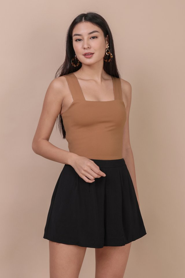 Luna Basic Top (Camel)